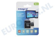 INMSDH8G10-90SPTAB Memory card Smartphone & Tablet, Class 10 (incl.SD adapter)