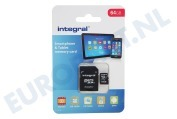 Integral INFD64GBEVOBL  Memory stick Integral 64GB Evo Blue 64GB
