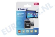 INMSDX128G10-80SPTAB Memory card Smartphone & Tablet, Class 10 (incl.SD adapter)