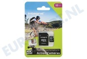 Integral INMSDH32G10-ACTION  Memory card Action Camera, Class 10 (incl.SD adapter) Micro SDHC card 32GB 95MB/s