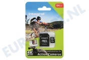 INMSDX64G10-ACTION Memory card Action Camera, Class 10 (incl.SD adapter)