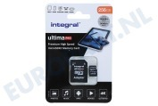 Integral  INMSDX256G-100/90V30 UltimaPro High Speed Micro SDXC Class 10 256GB Micro SDHC card 256GB