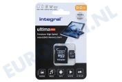 Integral  INMSDX512G-100/80V30 UltimaPro High Speed Micro SDXC Class 10 512GB Micro SDHC card 512GB