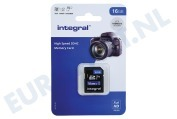Integral INSDH16G-100V10 V10 High Speed SDHC Memory Card 16GB V10 SDHC card 16GB 100MB/s