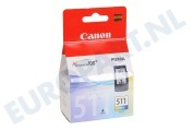 Canon 1426742  Inktcartridge CL 511 Color MP240, MP260, MP480