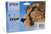 Epson C13T07144010  Inktcartridge T0714 yellow D78 DX4000 DX4050