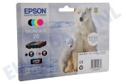 Epson 1865033 T2616 Epson printer Inktcartridge 26 Multipack Expression Premium XP-600