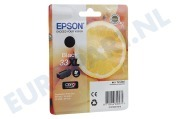 Epson Epson printer C13T33514010 T3351 Epson 33XL Black XP530, XP630, XP635, XP830