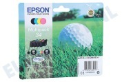 Epson Epson printer EPST346640 C13T34664010 Epson T3466 Multipack Epson Workforce Pro WF-Serie 3720, 3720 DWF, 3725