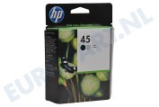 51645AE HP 45 Inktcartridge No. 45 Black