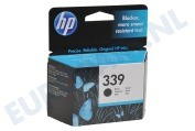 C8767EE HP 339 Inktcartridge No. 339 Black