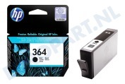 HP-CB316EE HP 364 Black Inktcartridge No. 364 Black