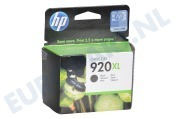 1466349 HP 920 Xl Black Inktcartridge No. 920 XL Black