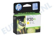 CD974AE HP 920 XL Yellow Inktcartridge No. 920 XL Yellow
