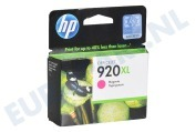 CD973AE HP 920 XL Magenta Inktcartridge No. 920 XL Magenta
