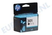 HP-CH561EE HP 301 Black Inktcartridge No. 301 Black