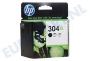 HP Hewlett-Packard HP printer HP-N9K08AE N9K08AE HP 304XL Black Deskjet 3720, 3730
