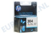 HP Hewlett-Packard HP printer 2553274 N9K05AE HP 304 Color Deskjet 3720, 3730