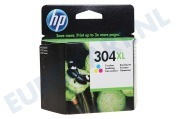 HP Hewlett-Packard HP printer HP-N9K07AE N9K07AE HP 304XL Color Deskjet 3720, 3730