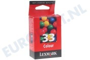 018CX033E Inktcartridge No. 33 Color