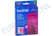Brother LC1000M Brother printer Inktcartridge LC 1000 Magenta DCP130C, DCP330C