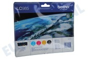 Brother LC985VALBP Brother printer Inktcartridge LC 985 Multipack DCPJ125,315W,515,MFCJ220