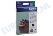 Brother BROI123BK Brother printer Inktcartridge LC 123 Black DCPJ132W, DCPJ152W, MFCJ245