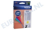 Brother LC223Y LC-223Y Brother printer Inktcartridge LC-223 Yellow DCP-J4120DW, MFC-J4420DW, MFC-J4620DW
