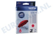 Brother LC225XLM LC-225XL M Brother printer Inktcartridge LC-225 XL Magenta DCP-J4120DW, MFC-J4420DW, MFC-J4620DW