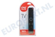 One For All  URC7115 URC 7115 One for all Evolve TV Universele afstandsbediening voor Smart TV