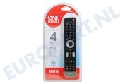 One For All  URC7145 URC 7145 One for all Evolve 4 Universele afstandsbediening voor Smart TV