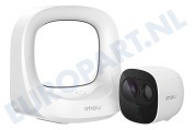 Imou  Kit-WA1001-300/1-B26 KIT-WA1001-300/1-B26E Cell Pro IP Draadloos Camera Systeem Night Vision, PIR Detection