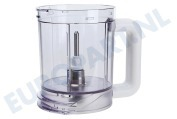 Braun 7322010214 Blender Mixerglas met as stuk 3202, K700