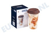 DeLonghi 5513281031 DLSC056  Thermosbeker Keramische beker met dubbele wand The Adventurer, 350 ml