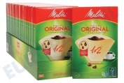 Melitta  6626822 Melitta koffiefilters 1x2 Optima Timer, Single 5, Linea Unica