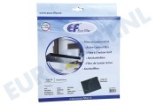 Eurofilter 484000008571 CFW020/1 Afzuigkap Filter Koolstof  220x180x20mm DKF 43 (D020 filter)