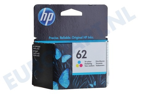HP Hewlett-Packard  HP-C2P06AE HP 62 Color Inktcartridge No. 62 Color