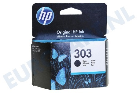 HP Hewlett-Packard  HP-T6N02AE T6N02AE HP 303 Black