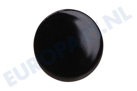 Whirlpool Klein whirlpool 481985023068 branderdeksel sudder zwart klein k