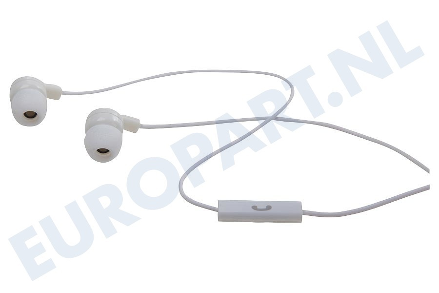 Apple  22857 Stereo headset In-ear met opname knop, Wit
