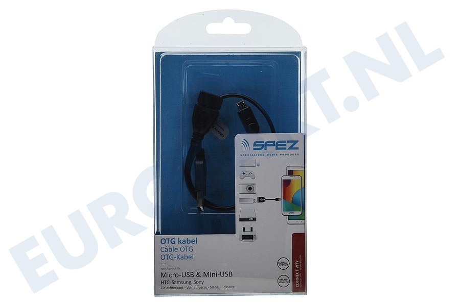 Sony  22513 OTG kabel Micro-USB & Mini-USB