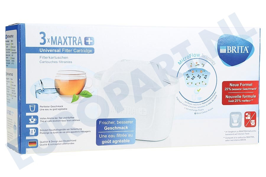 Electrolux Waterkan 1023120 Waterfilter Filterpatroon 3-pack