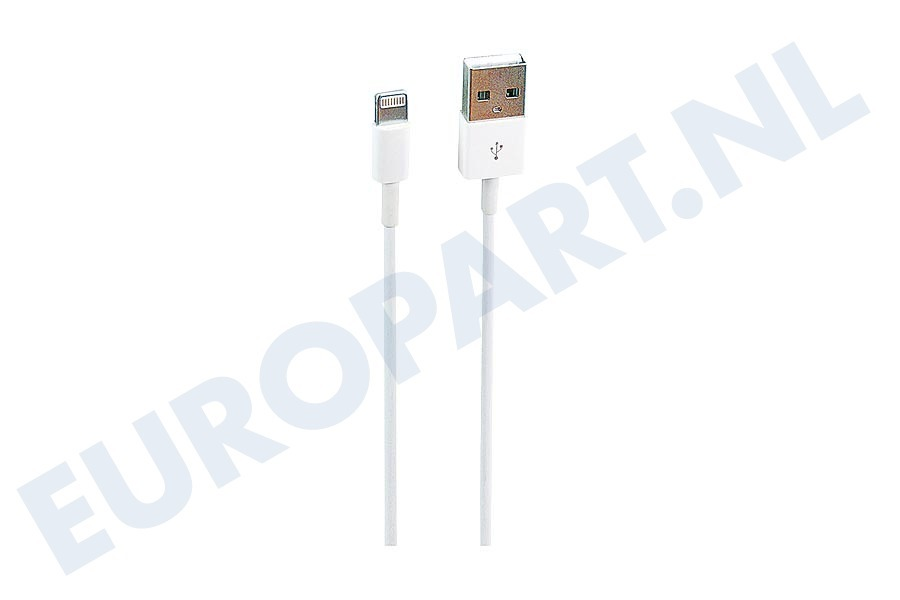 Apple  22370 USB Kabel Apple Lightning 100cm Wit