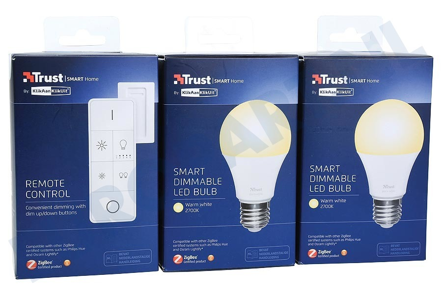Philips Licht Afstandsbediening : Trust 71178 zled 2709r zigbee starter set: 2 led lampen