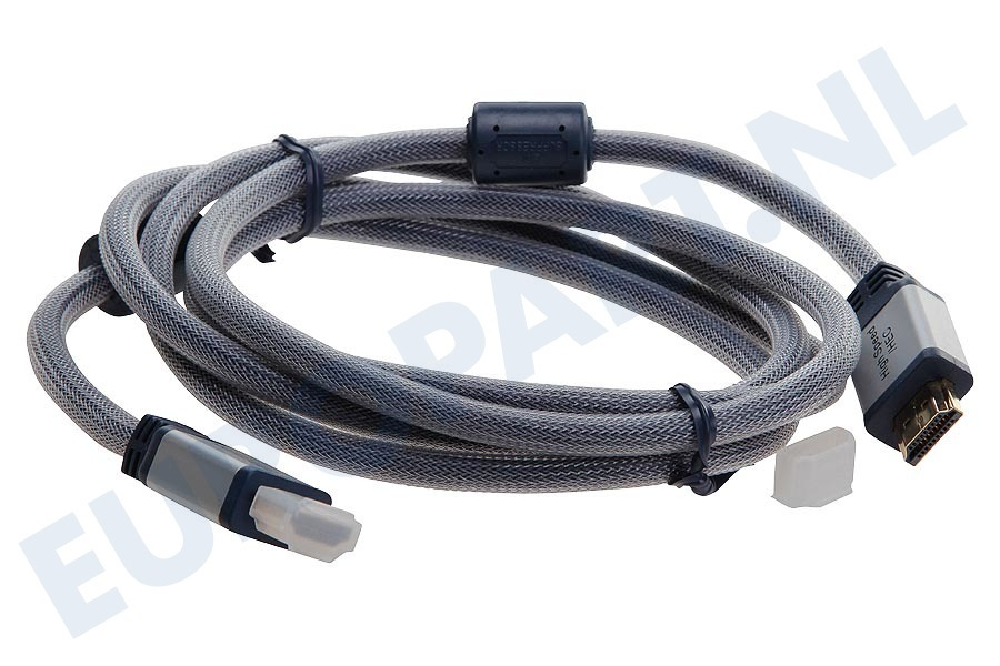 Hirschmann  695020368 HHE1.8 HDMI Kabel 1.4 High Speed + Ethernet, 1.8 Meter, Verguld