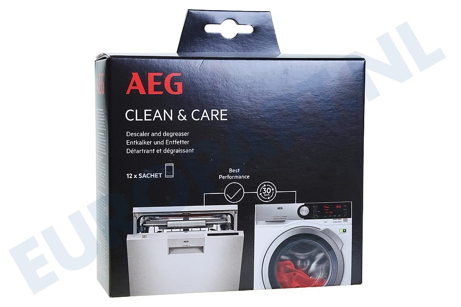 Universeel  9029798056 A6WMDW12 AEG Clean & Care