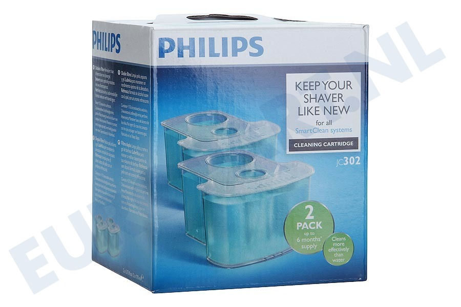Philips  JC302/50 Philips SmartClean JC302/50 cartridge - 2 stuks